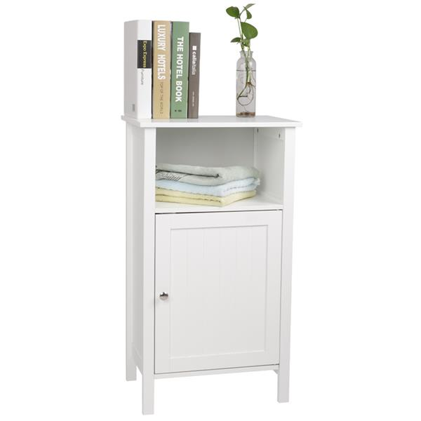 One Door And Three Layers Bathroom Cabinet White Waterproof And Moisture-proof ,bedroom Furniture,bathroom Furniture Cabinet.