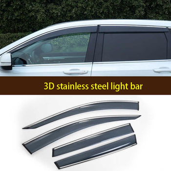 Suitable 2019 for Honda CRV rain shield 17/18crv window rain shield and rain eyebrow decorative accessories