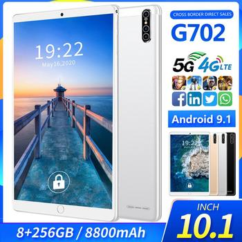 Global version 128G 10.1 inch G702 4G Phone Call tablet 8GB RAM 256GB ROM Android 9.1 8800mAh 1960*1080 tablet PC 10 1 inch official original 4g lte phone call google android 7 0 mt6797 10 core ips tablet wifi 6gb 128gb metal tablet pc