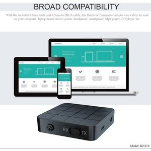 Image 4 - Bluetooth 5.0 משדר מקלט RCA אלחוטי מתאם סטריאו אודיו 3.5mm Aux שקע מתאמים עבור טלוויזיה לרכב עם שליטה כפתור