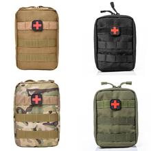 Medyczne szybkie pakiet zestawy pierwszej pomocy taktyczne wojskowe Mini etui na zewnątrz podróży Camping przenośne Survival kieszeń torby sportowe pokrowce na cheap Other