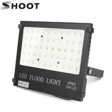 SHOOT LED Flood Light 50W 220V Floodlights Searching Lamp IP65 Reflector Foco LED Exterior Outdoor Lighting Spot Light Cold Whit 2400lm rechargeable led flood light 4 modes 50w 36 led floodlights spot camping portable outdoor flashing lamp eu us plug