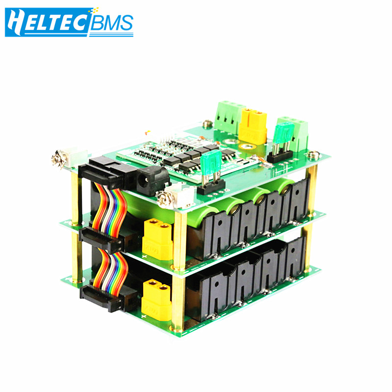 Power bank case 18650 holder 4S bms lithium battery balance circuits 40A 120A diy ebike electric car bicycle 16V battery pack