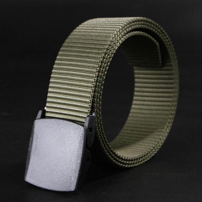 Automatic Buckle Nylon Belts Male Army Tactical Belt Men's Military Waist Canvas Belts Cummerbunds High Quality Strap Belt