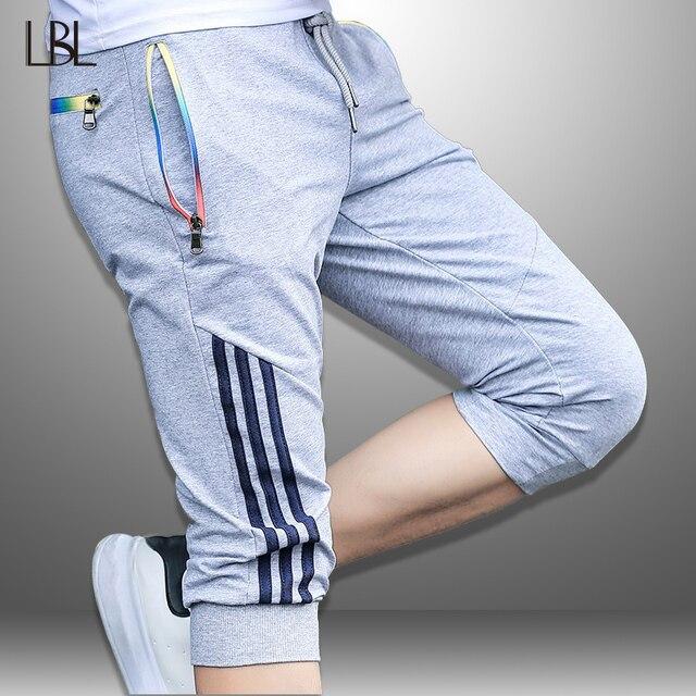 Pantalones cortos de verano para hombre, ropa de marca Hip Hop, pantalones cortos de chándal para hombre, pantalones deportivos para correr, ropa de calle, pantalones cortos de secado rápido para hombre