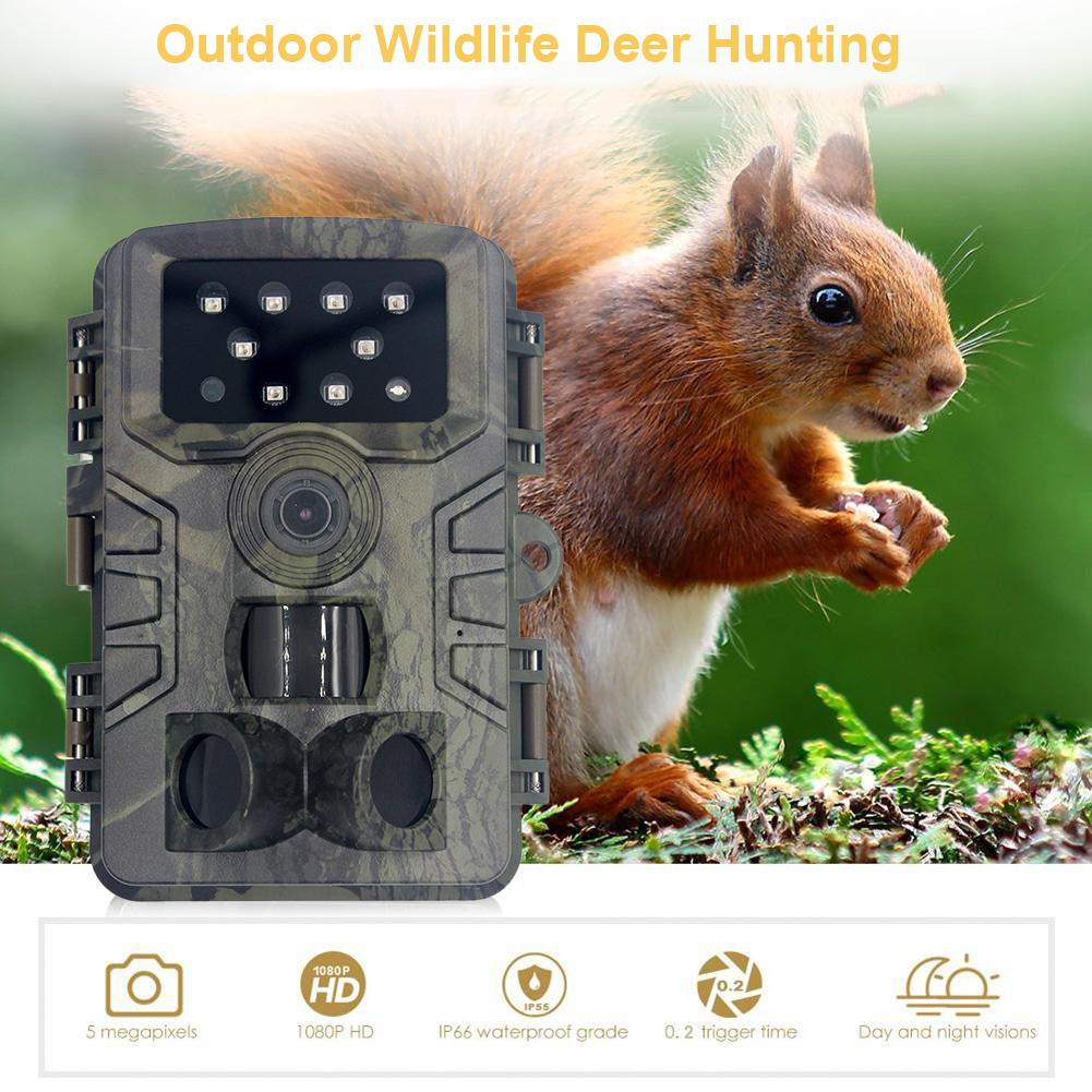 HD Infrared Recording Camera 20MP 1080P IP66 Waterproof And Energy-saving Hunting Trail Camera Wild Surveillance Outdoor Cam