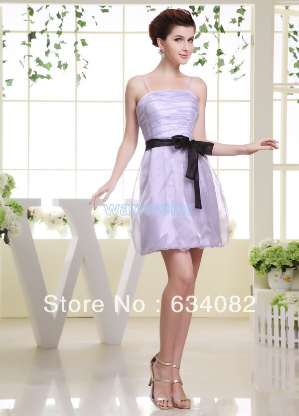 Free Shipping Best Selling Dresses 2013 Celebrity Dress Silver Tube Top Short Bridesmaid Tulle Ladies Fairy Tale Dress Formal