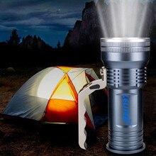 Высококачественный перезаряжаемый светодиодный светильник с XML T6, водонепроницаемый фонарь для рыбалки, фонарь для охоты, светильник для палатки