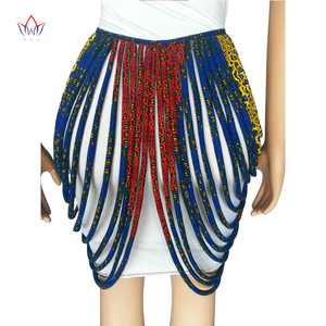 Image 3 - 2020 アフリカアンカラ手作りストラップネックレスファッションアクセサリージュエリーギフトafircan生地プリントネックレスショールSP002