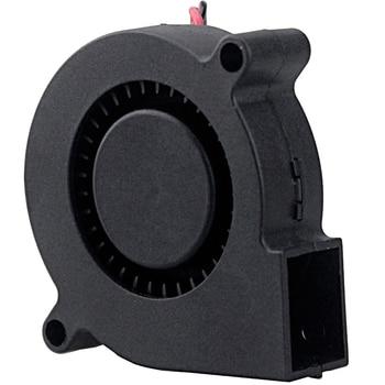 500 pcs/Lot Gdstime 50x50x15mm 50mm Radial Radiator Cooler 5015 5cm 24V DC Cooling Computer PC Blower Fan