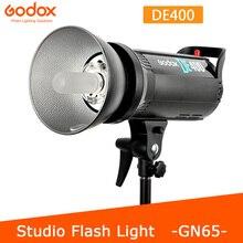 Godox DE400 400W 400WS Pro fotoğraf stüdyosu Strobe flaş işığı lambası kafa 220V