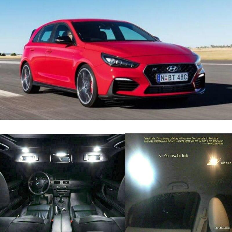 Led Interior Lights For Hyundai I30N 2019  11pc Led Lights For Cars Lighting Kit Automotive Bulbs Canbus