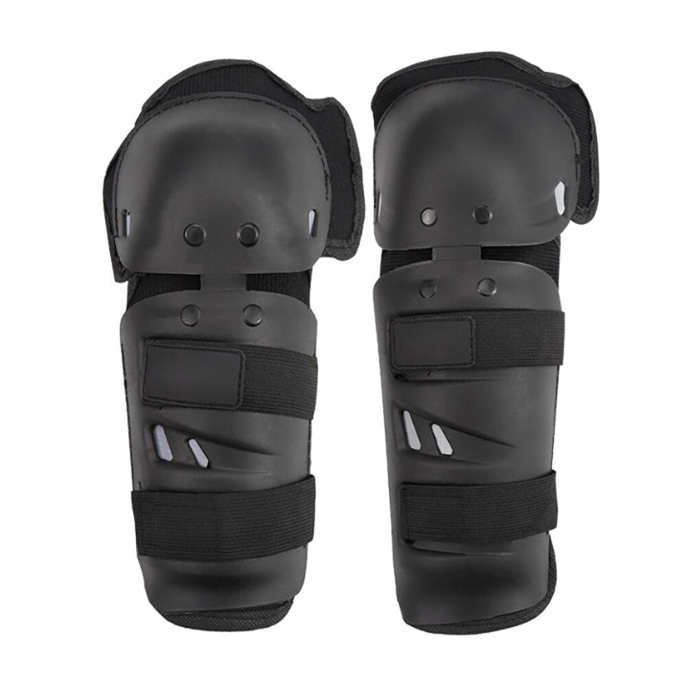Купить с кэшбэком 4pcs/set  Motorcycle Knee Protector Protective Gear Knee Guards Kit Motorcycle Knee Pads Elbow Protector Safety Protective Gear