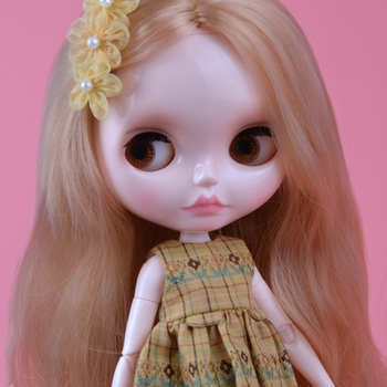 Blyth Doll Blyth Matte Face Frosted White Skin 1/6 BJD Ball Jointed Doll Custom Dolls for Girl Gift for Doll Collection hotselling porcelain country side girl doll german brand rf collection doll hand made art dolls for collectors