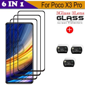 Szkło hartowane dla Xiaomi Poco X3 Pro szkło ochronne dla Xiaomi Poco X3 Pro Film dla Xiaomi Poco X3 Pro tanie i dobre opinie MukasGls TEMPERED GLASS CN (pochodzenie) Folia na przód For Poco X3 Pro Explosion-proof Fingerprint resistant hd High Quality