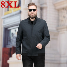 2019 New Plus Size 6xl 7xl 8xl  Men Spring And Autumn Jackets And Coats  Large Size Jackets Mens Clothes high quality jackets soft shell outdoors jackets men big size 6xl 7xl 8xl mens hiking jackets windproof waterproof coats climbing camping windbreaker