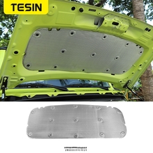 TESIN izolacja akustyczna bawełna dla Suzuki Jimny JB74 maska samochodu podkładka termoizolacyjna dla Suzuki Jimny 2019 2020 akcesoria