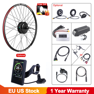 Image 1 - Bafang 48V 500W Brushless Gear Hub Motor E bike Motor G020.500 Rear Wheel Drive Electric Bike Conversion Kit Bicycle for Adult