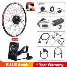 Bafang 48v 500w sem escova motor do cubo da engrenagem e bike motor g020.500 roda traseira unidade kit de conversão bicicleta elétrica para adulto