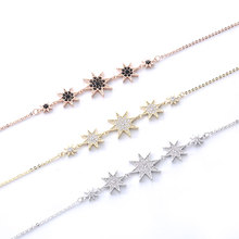 Fashion Personalized Jewelry Necklace Ladies Charm Pendant Jewelry Dinner Snowflake Pendant Necklace Holiday Exquisite Gift fashion women necklace snowflake shiny rhinestone with swarovski element pendant chain necklace party jewelry christmas gift
