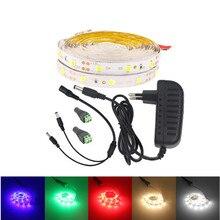 10m 5m Set 2835SMD LED strip neon led rope light ribbon color red green blue warm white 12v 60leds/m