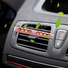 LEEPEE автомобиля, устанавливаемое на вентиляционное отверстие в салоне автомобиля клип духи авто-Стайлинг деревянные бусины Ароматерапия Авто диффузор Автомобильный Интерьер Декор освежитель воздуха