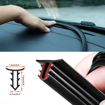 1.6M Car Styling Dashboard Soundproof Seal Strip For BMW E46 E39 E90 E60 E36 F30 F10 E34 X5 E53 E30 F20 E92 E87 M3 M4 M5 X5 X6 image