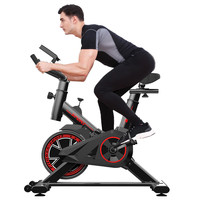 Ultra quiet Indoor Sports Fitness Equipment Home Exercise Bike High Quality Cycling Bikes 270 pounds Load Spinning Bicycle#S3