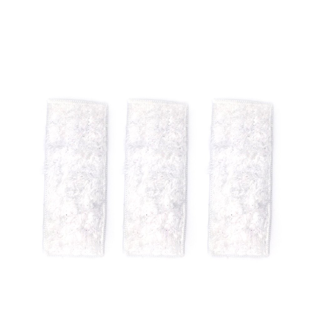 3PCS/SET Dry Mopping Cloths Microfiber Mopping Cloths Washable & Reusable Mop Pads Suitable For IRobot Braava Jet 240 241
