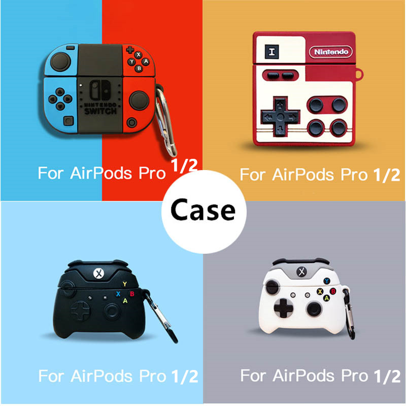 Switch Gameboy Wireless Earphones Case For Airpods Pro 2 3 1 Case