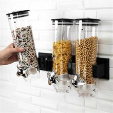 Food storage box kitchen wall-mounted tank plastic container food airtight
