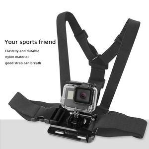 Image 2 - Go Pro Accessoires Voor Gopro Hero7 6 5 4 3 + Actie Sport Camera Borst Head Hand Wrist Strap Voor xiaomi Yi 4 K Eken Auto Supction