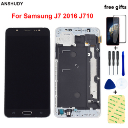For Samsung J7 2016 Display Touch Screen Digitizer Assembly For Samsung J710F LCD Display J710 J710M J710H J710FN LCD Touch