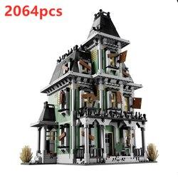 16007 дом с привидениями Монстры воин серия боец 10228 вампиры призрак фигурки подлинные строительные блоки игрушки для детей Подарки