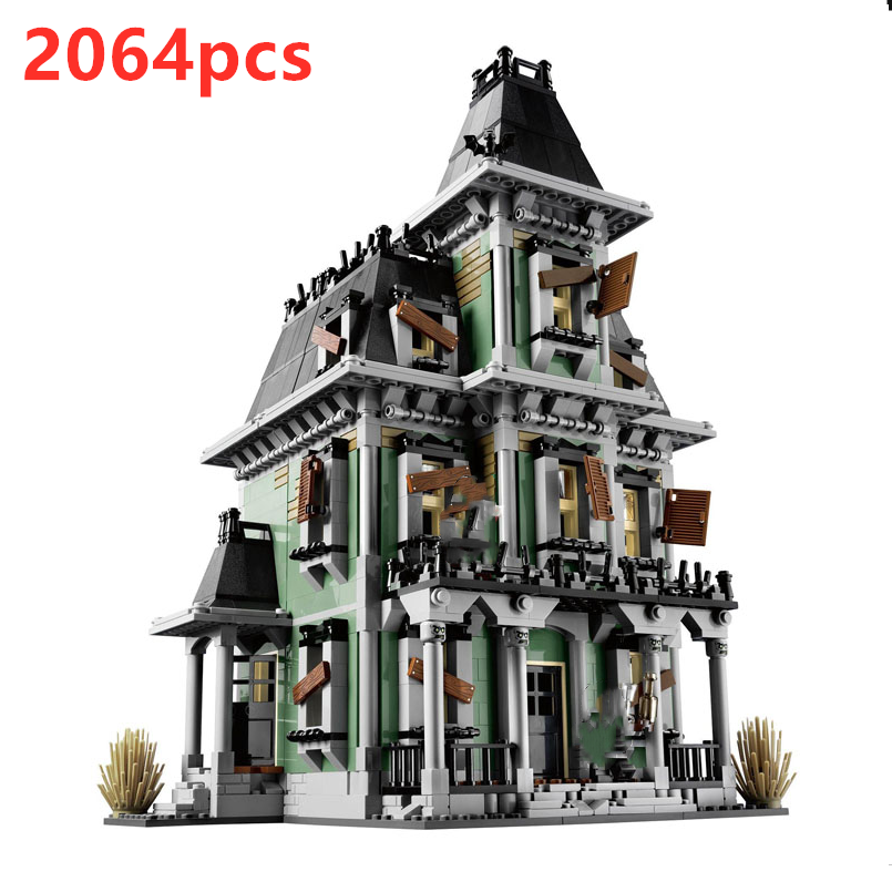 16007 The Haunted House Monsters Warrior Series Fighter 10228 Vampires Ghost Figures Genuine Building Block Toys For Kids Gifts