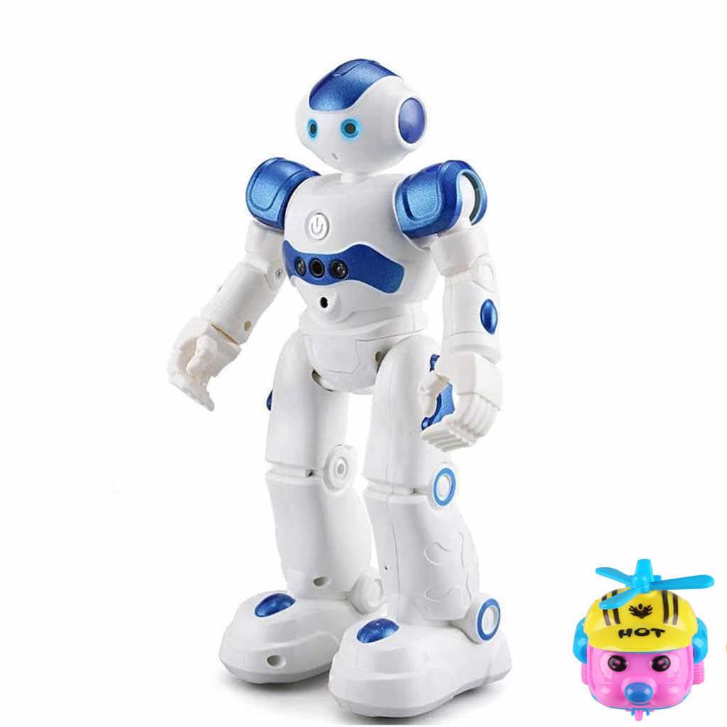 Intelligente Robot Multifunctionele Opladen Kinderen Speelgoed Dansen Afstandsbediening Gebaar Sensor Speelgoed Cadeau Voor Kinderen Controle # e30