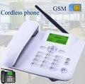 Беспроводной GSM 900 1800 МГц Поддержка sim-карты стационарный телефон белый черный стационарный телефон стационарный беспроводной телефон дома...