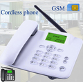 Cordless GSM 900 1800 MHz Unterstützung SIM Karte Feste Telefon weiß schwarz Festnetz Telefon Fixed Wireless Telefon hause büro haus-in Handys aus Computer und Büro bei