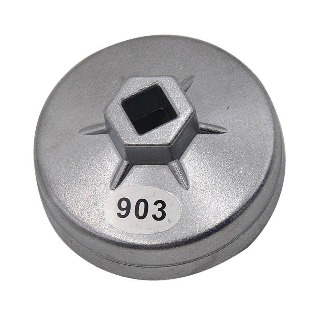 User 74 mm 14 flauto alluminio filtro olio chiave Socket Remover Tool