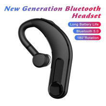 M21 New earphone Bluetooth headset upgraded version of the hanging ear business Bluetooth 5.0 headphones with mic