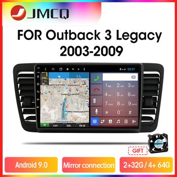 JMCQ 8-cores RDS DSP Car Radio For Subaru Outback 3 Legacy 4 2003-2009 Multimedia Video Player 2 din 4+64G carplay GPS Navigaion