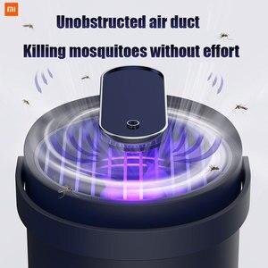 Image 2 - Nieuwste Photocatalyst Muggen Insect Killer Lamp Val Uv Smart Licht Muggen Killer Lamp Usb Elektrische