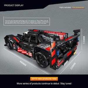Image 4 - RC Formula Racing Car Model Building Blocks Compatible Technic Series DIY Model Set Toys Power Motor Function Car Bricks Toys
