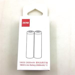 Image 1 - 2PCS 원래 18650 2600mAh Lipo 배터리 Zhiyun Weebill 실험실/S 안정제 짐벌 예비 부품 액세서리