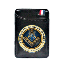 Wallets Cash-Holder Money-Clips Masons Card-Purse Women Free Classic Cool And Black Thin