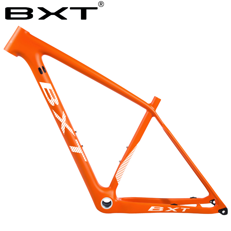 BXT 29er Carbon Mtb Mountain Bike Frame Super Light 142/148mm Bicicletas Used For Racing Bicycle Max Load 250kg Cycling Frames