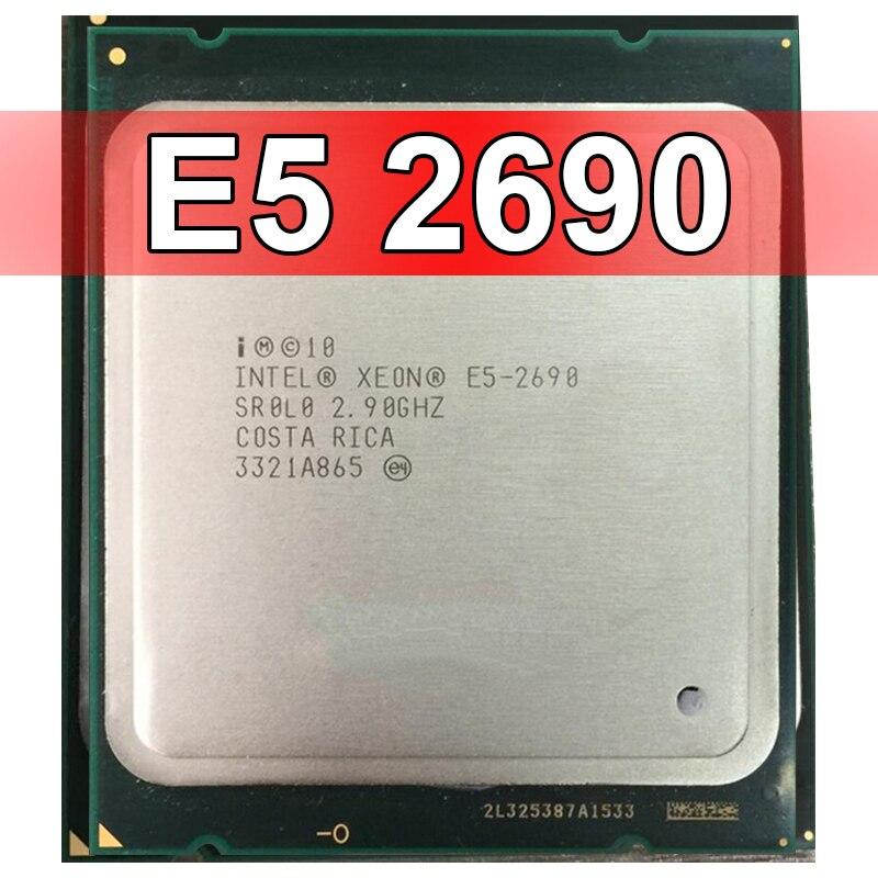 2019 Intel Xeon E5 2690 Processor 2.9GHz 20M Cache LGA 2011 SROLO C2 E5 2680 CPU 100% Normal Work From Cpustore