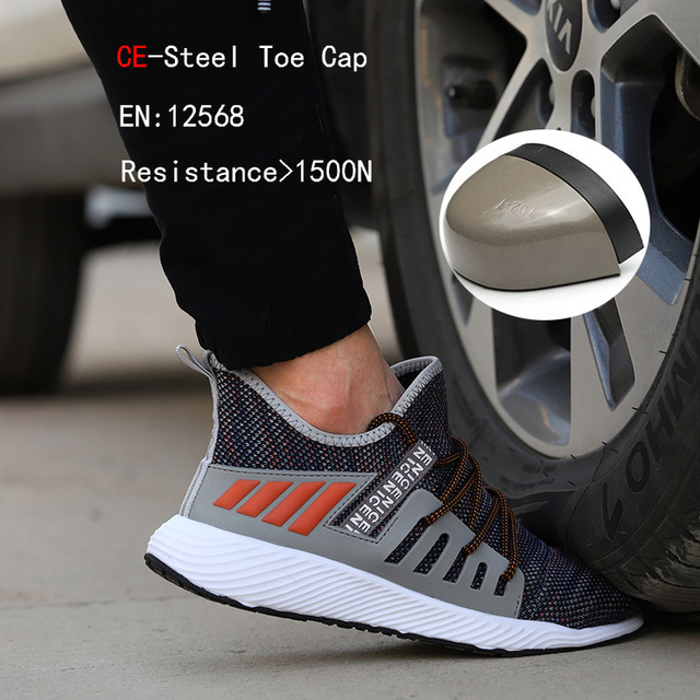 Ultra-light steel toe cap men safety shoes  6