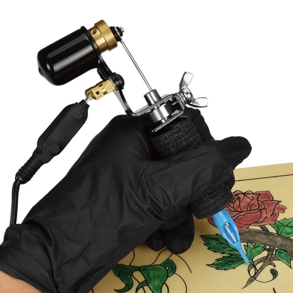 Professional Strong Quiet Motor Electric Rotary Tattoo Machine For Liner Shader New Can Work Continuously For 4 Hours Durable