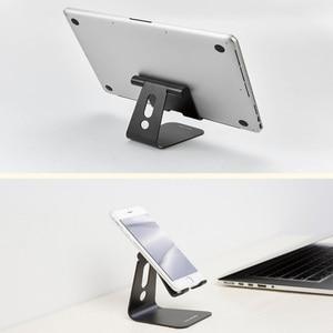 Image 2 - Youpin נייד טלפון מחזיק Tablet שולחן העבודה Stand טלפון סוגר יציב ללא רועד אלומיניום 7/12 סנטימטרים עבור משרד בית